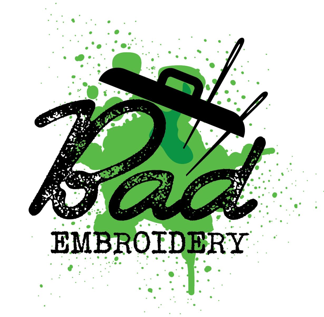 Poor quality logo embroidery