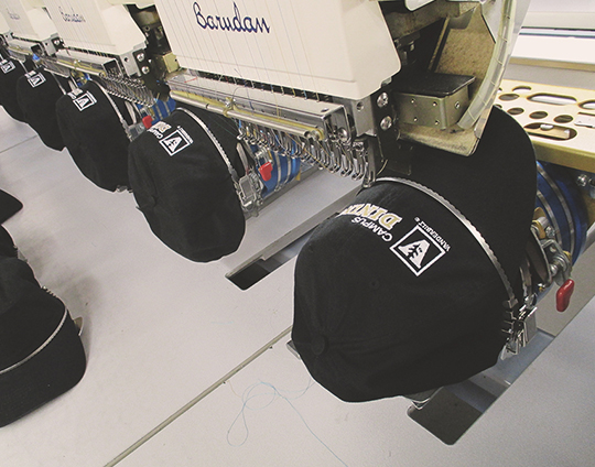 Inhouse embroidery