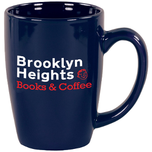 Coffee Mug Promotional Product With Brooklyn Heights Logo