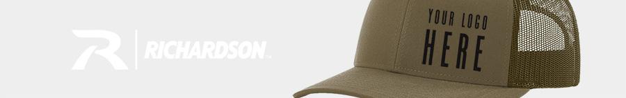 Custom designer hats from Richardson Caps